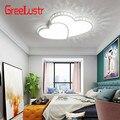 Новый индивидуальный креативный акриловый светодиодный потолочный светильник в форме сердца  детский потолочный светильник  теплое роман...
