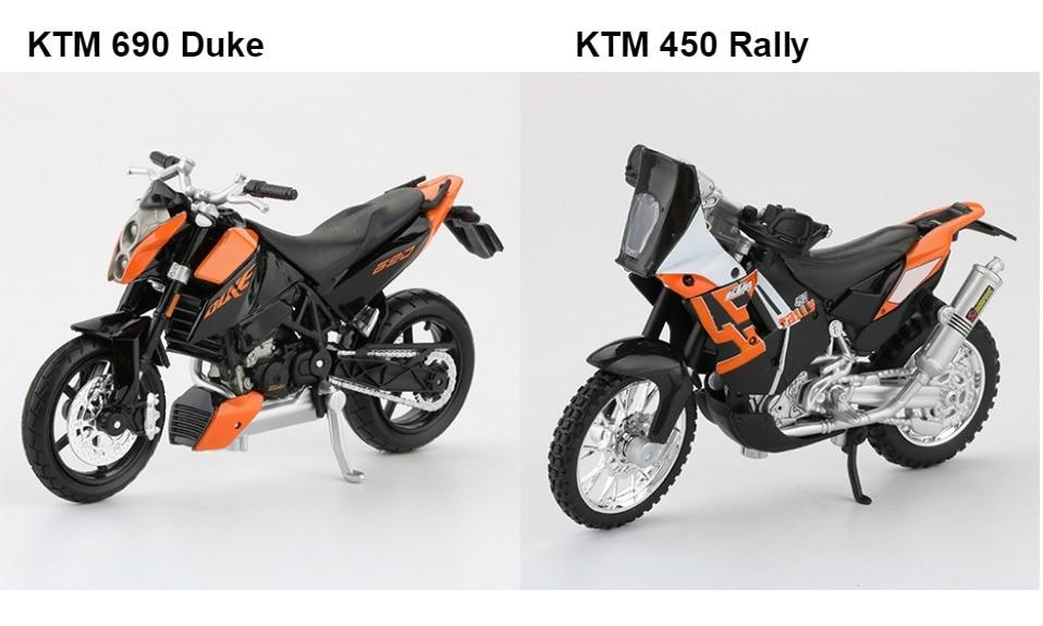 Toy KTM RC 390 Motorbike 11x3x6 cm 50