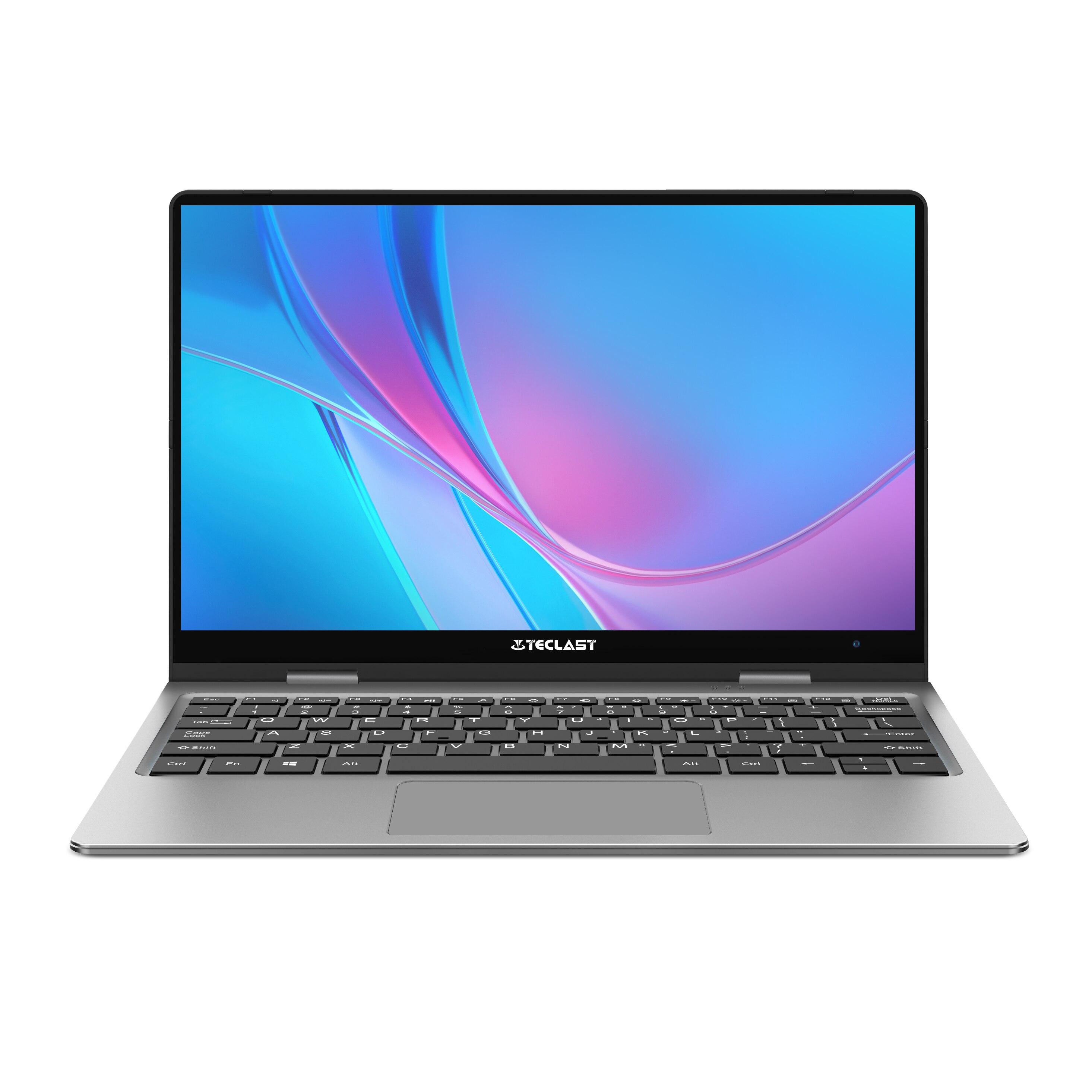 Ноутбук Teclast F5 8 ГБ ОЗУ 256 ГБ SSD Windows 10 Intel Gemini Lake N4100 четырехъядерный 360 Вращающийся сенсорный экран 11,6