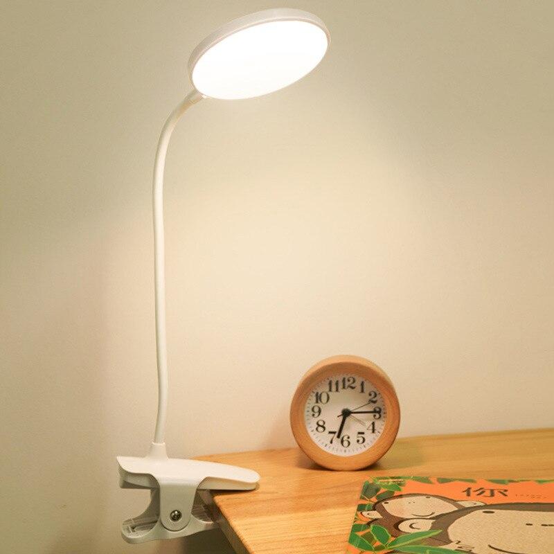de mesa olho-cuidado imprensa sensível 5w luz,