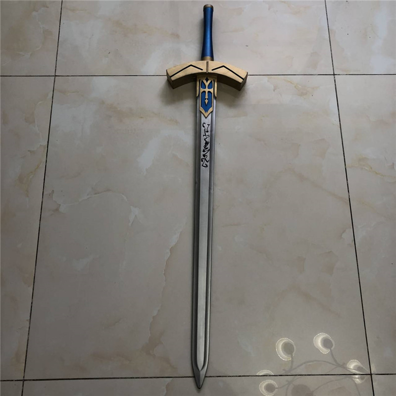 Cosplay Fate Saber Sword Destiny Guardian Night Blackened King Arthur Vows Victory weapon PU Sword Anime Costume party 105cm image