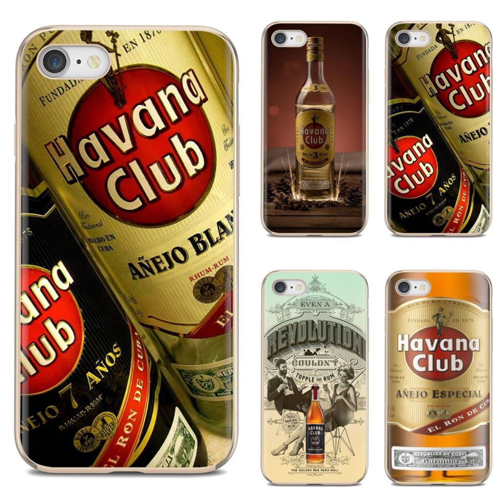 Para iphone ipod touch 11 12 pro 4 4S 5 5S se 5c 6s 7 8 x xr xs plus max 2020 havana club anejo especial rum impressão capa macia