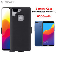 NTSPACE 6000mAh Battery Cases For Huawei Honor 7C Backup Powerbank Phone Charger Cover Case Power