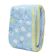 3 Pcs ABDL Adult Diapers M Size Adult Baby Diaper Unicorn Printing DDLG Napper For Adult Baby Girl, For Baby Boy