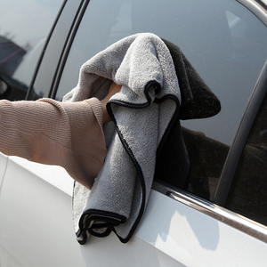 Image 2 - 100X40cm Car Wash Towel Microfiber Car Cleaning Drying Cloth Auto Washing Towels Car Care Detailing Car Wash Accessories