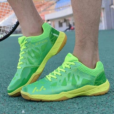 Sapatos de Desporto de Formação Homens Mulheres Tênis Sapatos Badminton Alta Qualidade Eva Muscular Anti-escorregadio Profissional Mais ou