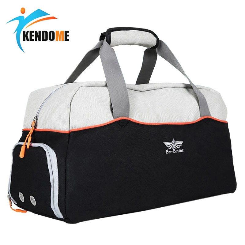 Hot Large Multi-function Sports Gym Bag With Shoes Pocket Men Training Shoulder Bag Women Fitness Outdoor Travel Handbag