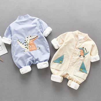 Śpioszki dla niemowląt modne płaszcze dla niemowląt chłopcy odzież odzież dla noworodka kostium dla niemowląt marka kombinezon wiosna jesień ubranko dla dziecka tanie i dobre opinie Panda Leader COTTON Cartoon Dla dzieci O-neck Pojedyncze piersi Pajacyki Boys baby Pełna p228 Pasuje prawda na wymiar weź swój normalny rozmiar