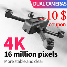 Mini Drone Hd Camera 4k Optical Flow Foldable Folding Video Gps Follow Me Dual Cameras Rc Helicopter