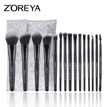 ZOREYA Makeup Brush 4/8/12/15/16/18pcs Professional Makeup Brush Set Many Different Model As Essential Cosmetics Tool 1