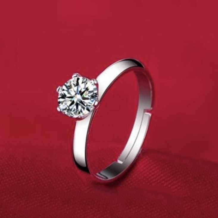 2019 אופנה 925 כסף סטרלינג לב חץ הניצוץ קריסטל מעצב טבעת לנשים AAA זירקון אירוסין חתונה טבעות תכשיטים