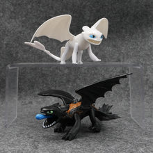 Movie How to Train Your Dragons Night Fury Toothless Joint Movable Action Figure Toys(China)