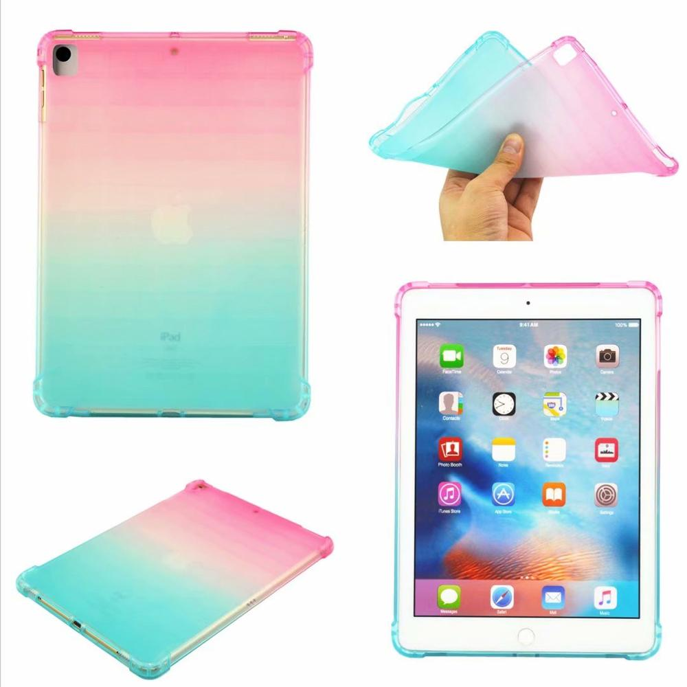 For IPad 10.2 Case Drop Resistance Soft TPU Silicon Cover For Apple IPad 10.2 2019 7th Generation A2200 A2198 A2232 A2197 Funda