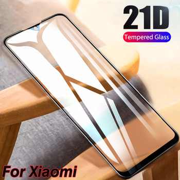 10Pcs 21D 11H Full Cover Screen Protector Glass For Xiaomi Redmi Note 9S 9 Pro Max Redmi Note 8 Pro 7 6 5 5A Tempered Glass Film