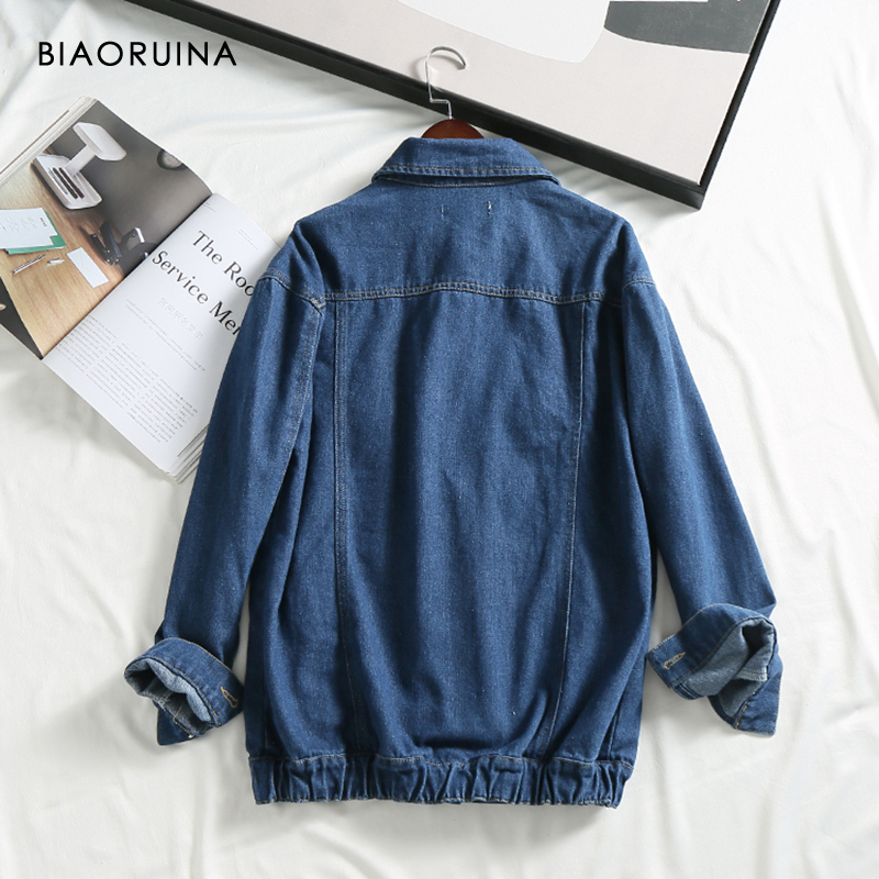 Style Breasted Casual Denim