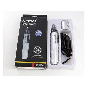 Kemei KM-310A Wiederaufladbare Elektrische Nase Trimmer Für Männer Schönheit Nase Und Ohr Trimmer Für Nase Haar Entfernung Männer Nase Trimmer