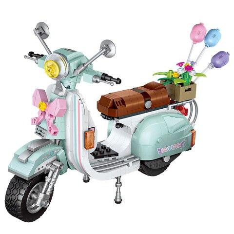 serie tecnica classico vespaed p200 motor bicicleta