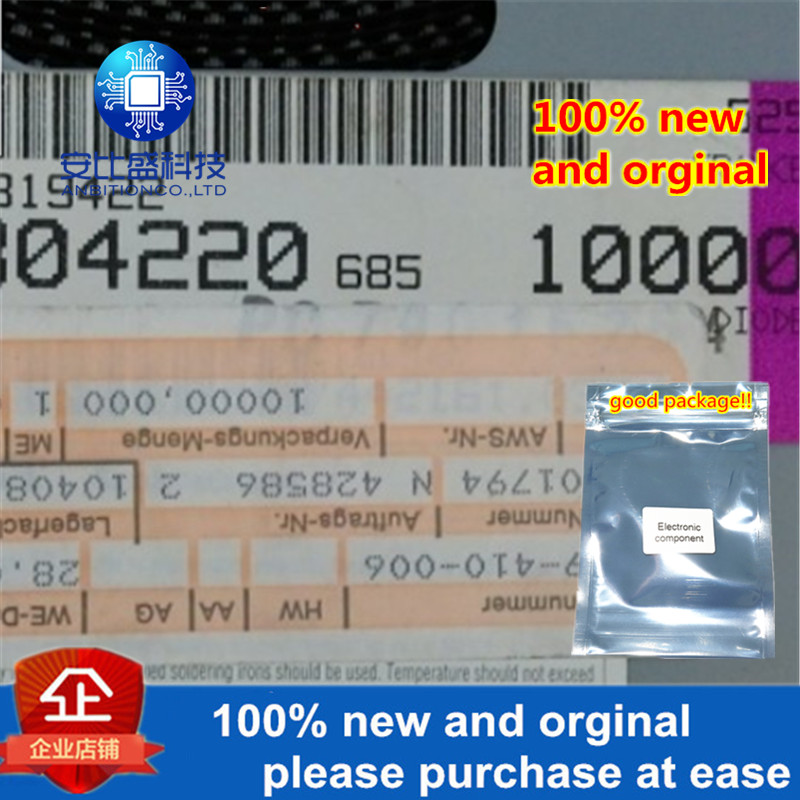 50pcs 100% New And Orginal B6P Silk Screen White Ring In Stock