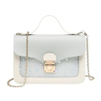 Women Mini Small Square Pack Shoulder Bag Fashion Star Sequin Designer Messenger Crossbody Bag Clutch Wallet Handbags Pink 1