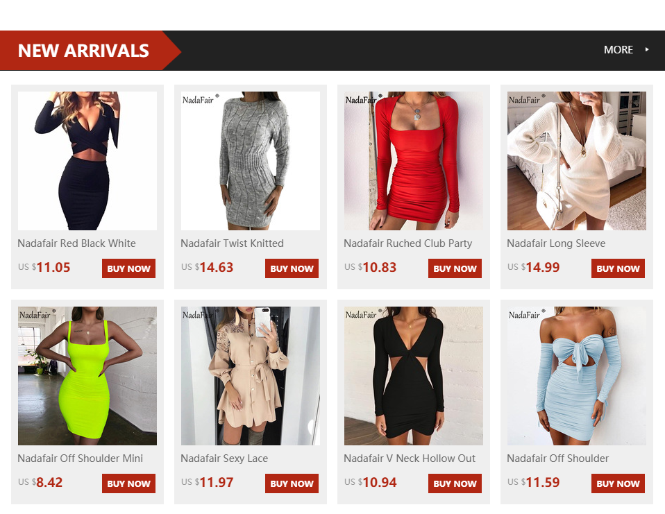 Nadafair Sexy Midi Pencil Bandage Club Bodycon Dress Women Autumn Winter Long Sleeve Red White Black Party Dress Vestidos 3
