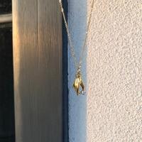 2021 neue Design Französisch Damen Hand Anlauf Freie Edelstahl 18k Gold Überzogene Verdrehte Kette Kleine CZ Halsketten für frauen