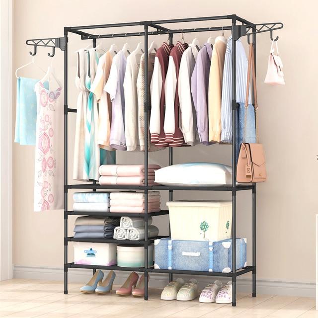 Coat Rack Closet Floor Shelf 1