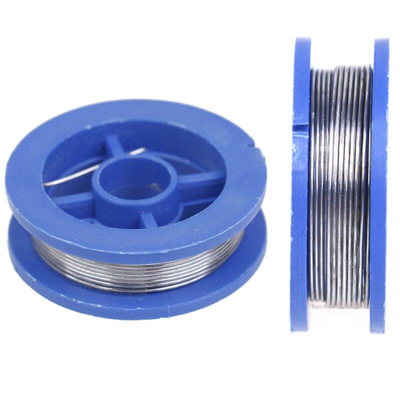 2020 New 0.8mm Solder Wire Reel Rosin Core Solder Soldering Welding Iron Wire Reel Welding Practice Flux 1PC
