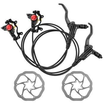 ZOOM HB-875 Mtb Bike Disc Brake 800/1400 mm Bike Hydraulic Brake Kit With Bicycle Rotors