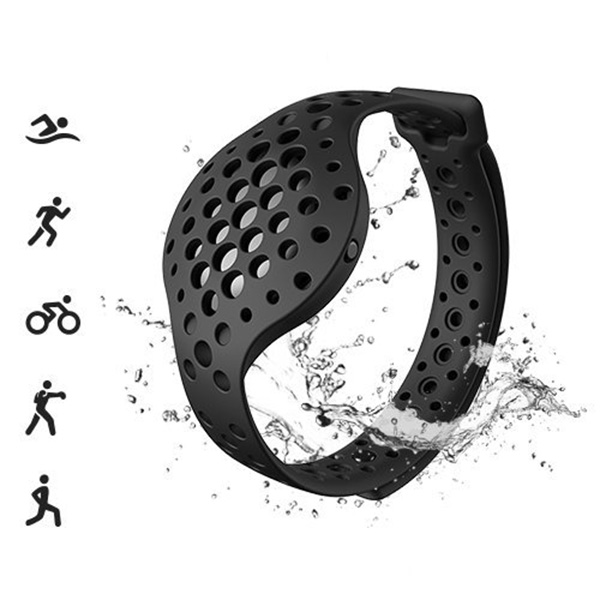 IG-Outdoor Sports Bracelet 3D Fitness Tracker And Real-Time Audio-Coach Moov Now Waterproof Sports Record Slimming Exercise, Blu