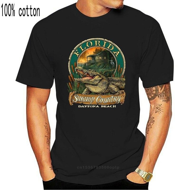 mens t-shirt Daytona Beach Florida Resort Souvenir Gator T-Shirt