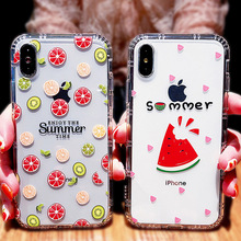 Silicone Phone Case for iPhone XR 7 8 6 6S Plus Soft TPU For XS MAX Transparent phone Cover iphone xsmax 8plus