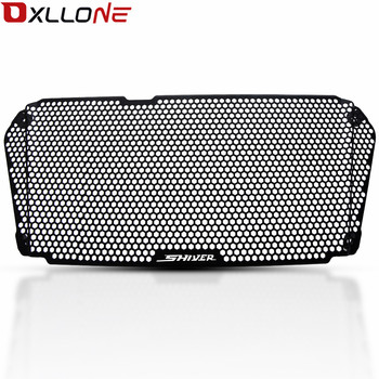 Motorcycle CNC Aluminum Radiator Grille Guard Cover For Aprilia Shiver SL 750 Radiator Guard 2007 2008 2009 2010 2011 2012-2017