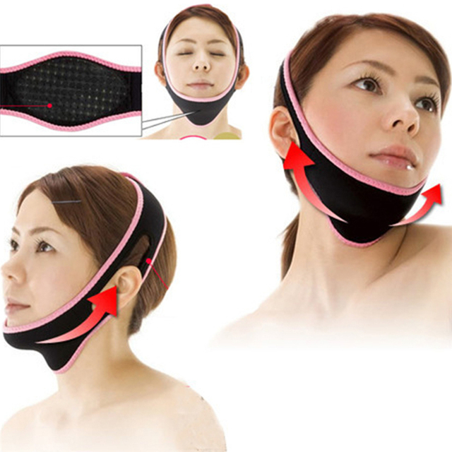 1Pcs Powerful 3D Face-lift Device Facial Thin-Face Bandages V-Face Correction Sleeping Face Shaper Face Slimmer Beauty Tool 1