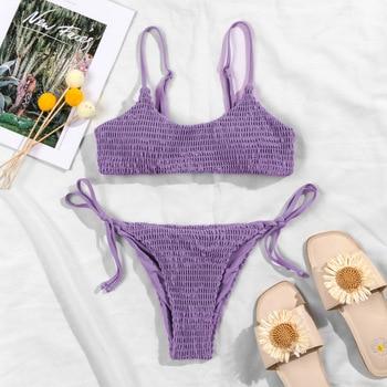 Sexy Bikini Swimwear Women Swimsuit Push Up Micro Brazilian B1249 10