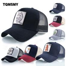 Unisex Cotton Snapback caps for men Embroidery wolf Baseball Cap Women's Breathable Mesh Trucker Bone rooster Hip Hop hats
