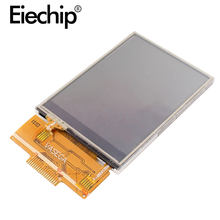 Ips Display ILI9341 2.4 Inch Spi Seriële Tft Lcd Touch Screen Display 4IO Poort 18 Pin 240X320 Voor Arduino Diy module 2.4 Inch