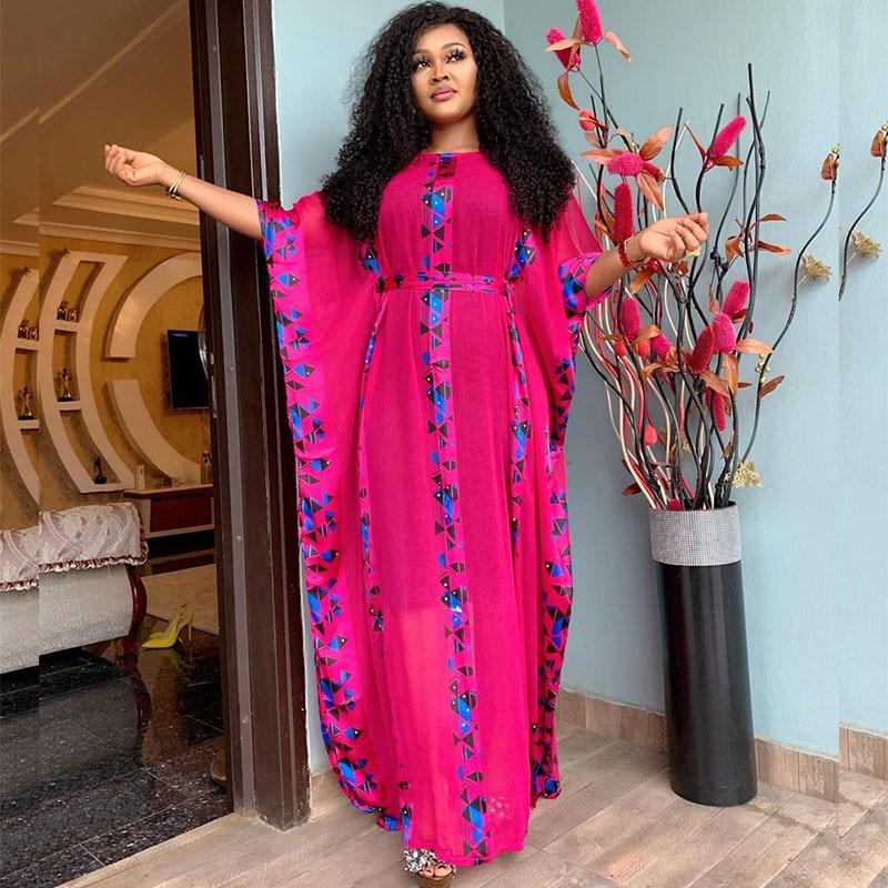 Африканские платья для женщин дашики африканская одежда базен африканская одежда размера плюс принтованное африканское платье новые