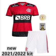 Novo kit para crianças + adulto novo e. ribeiro e. ribeiro gabriel b. Diego de arrascaeta b. henrique gabi novo 22021 2022 camisa flamengo
