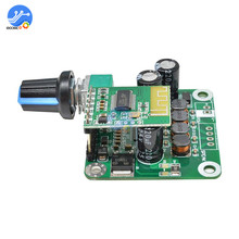TPA3110 Bluetooth 4.2 wzmacniacz cyfrowy pokładzie 15w + 15W 12V 24V Stereo Audio głośnik USB regulacja głośności Modulo Amplificador