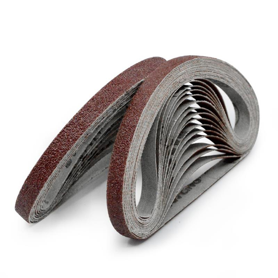 10pcs 10x330mm Abrasive Sanding Belts 1000 Grit Sanding Grinding Polishing P8F9