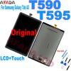 10.5 ''per Samsung Galaxy Tab A2 T590 T595 SM-T595 SM-T590 LCD Pannello di Visualizzazione Dello Schermo di Monitor Touch Screen Assemblea Completa replacemen