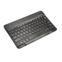 Universal sem fio bluetooth teclado fino hebraico-espanhol ergonomia de 9.7 polegadas se encaixa qualquer tablet e telefone com dispositivo bluetooth