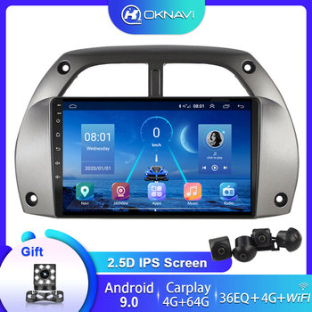 4G+64G 2 din DSP Car DVD Radio Multimedia Video Player For Toyota RAV4 2001-2005 2006 Smart Navigation GPS WIFI Map Android 9.0 image