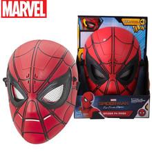 Oryginalny Disney Marvel 3d Spiderman daleko od domu maski dla Avengers żelaza Spider-Man Cosplay Superhero maska Lense dzieci Co tanie tanio RUBBER E6506 Unisex Styl życia Akcesoria 20x11 2x26 4cm Akcesoria dla lalek