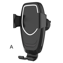 Car Phone Holder Fast Charging Wireless Chargers Mobile Bracket for Smartphone SP99