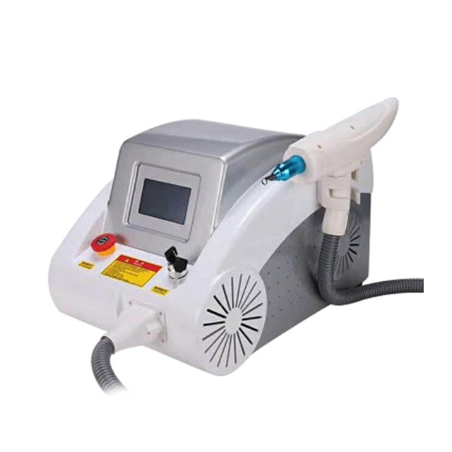 Hot selling ! portable 1064nm, 532nm, 1320nm laser tattoo removal machine and eyebrows tattoo machine with red dot sight