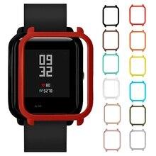 Смарт-часы, защитный чехол, цветной PC чехол, защитный чехол для Xiaomi Huami Amazfit Bip, Молодежные часы, чехлы, рамка#50