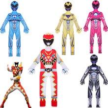 Power Mecha Five Beast Super Action Figures Rangers Battle Neuro Mystic Force kids cosplay