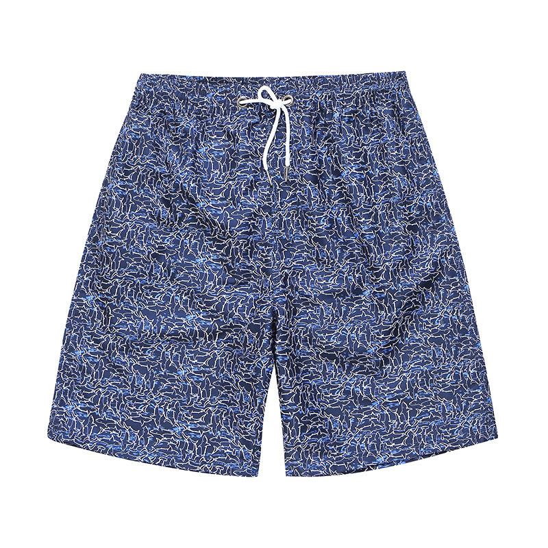 Shorts Fashion Man Quick-Dry Printed Loose-Fit Couples Beach Shorts Fashion Seaside Holiday Shorts Large Trunks