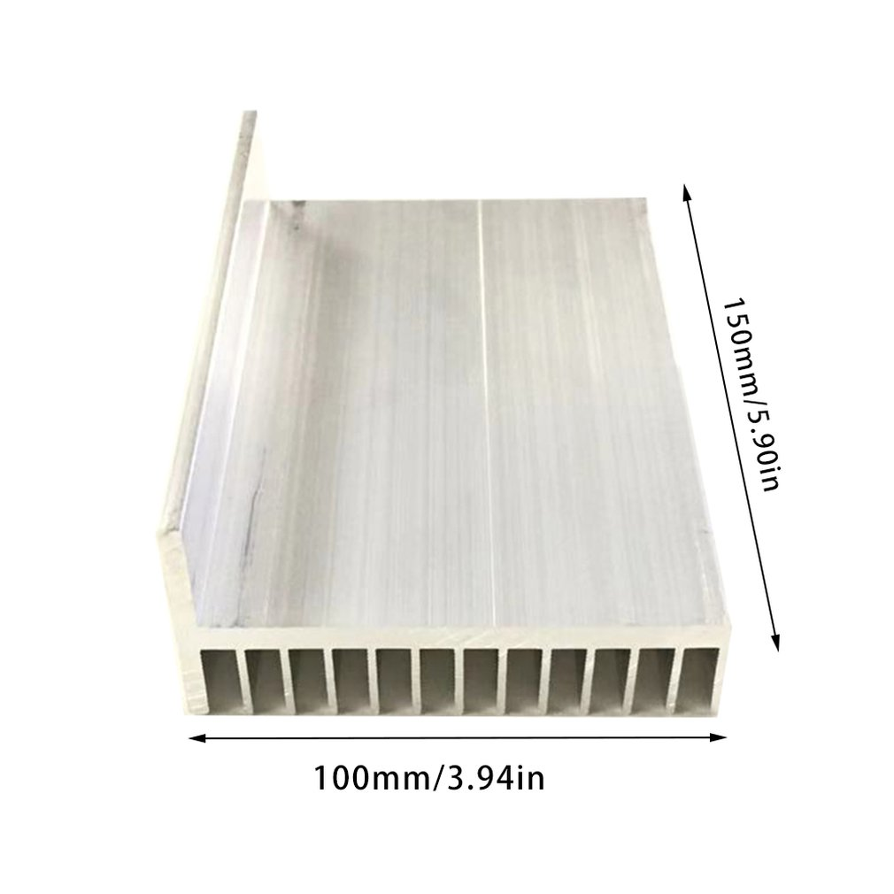 Aluminium kühlkörper/LED kühlkörper 101.5*49-150/IC kühlkörper/Aluminium profile/Aluminium farbe/Chassis heizkörper